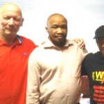 L-R: Alec Thraves (CWI), Irvin Jim (NUMSA gs), Weizmann Hamilton (WASP gs)