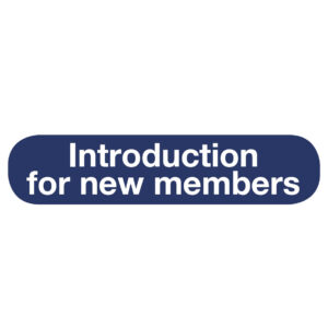 Inro to New members logo